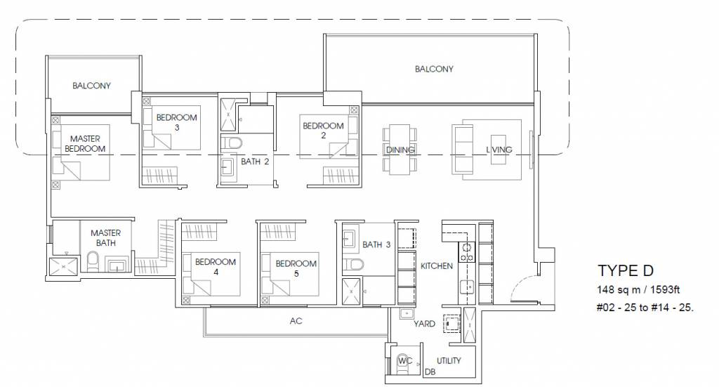 5 Bedroom The Vales